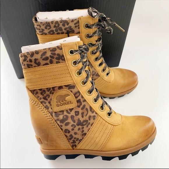 Sorel Shoes | Sorel Leopard Lexie Wedge